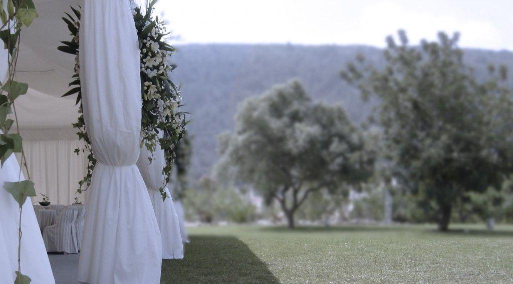 alquiler de carpas para una boda en alicante (Javea)