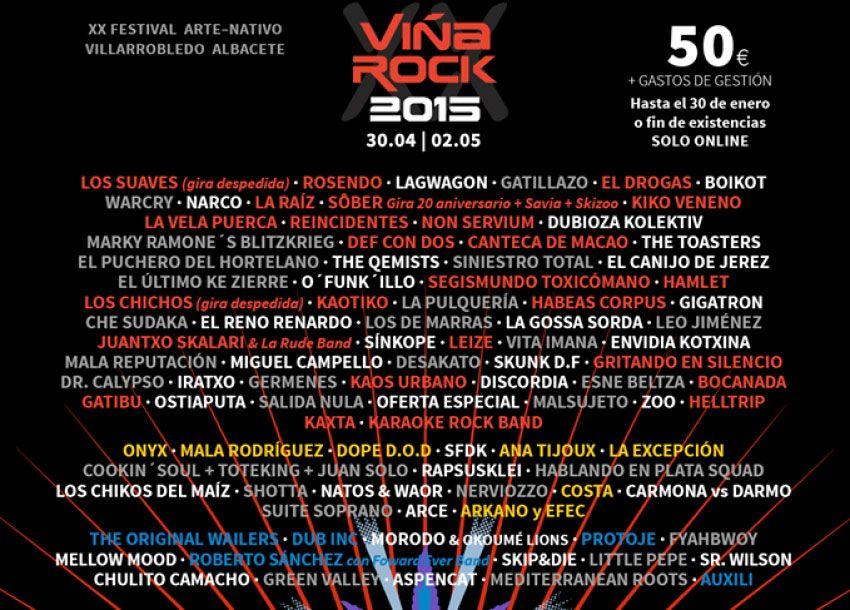 festival del viña Rock 2015