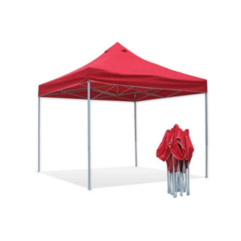 carpa plegable color rojo
