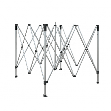estructura de la carpa plegable
