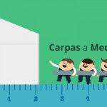Realización de carpas a medida