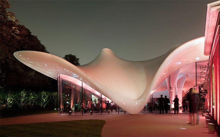 carpa estructura museo