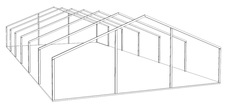 porticos carpa 15x30