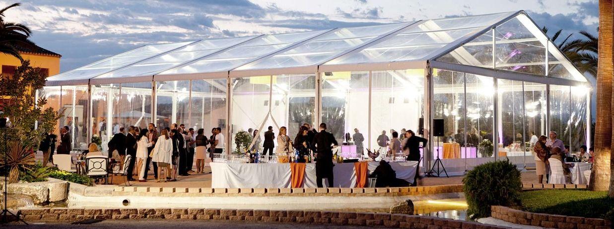 carpa transparente en huerto de san jose (Valencia)