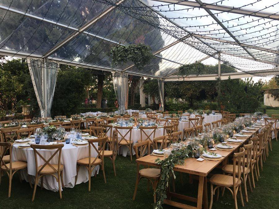 carpa para bodas temporada baja