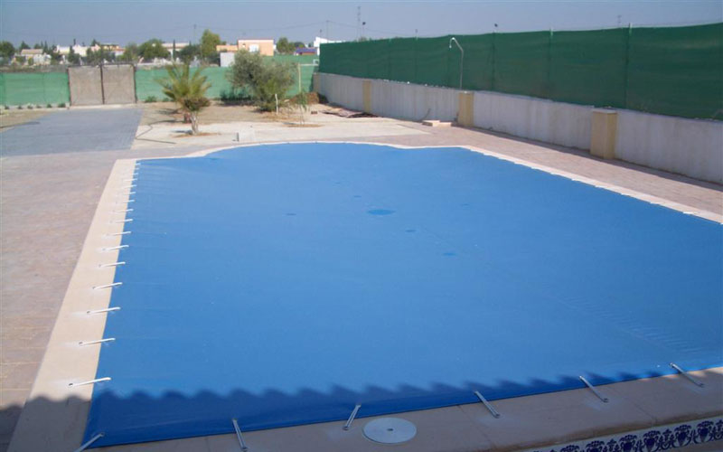 Lonas para piscinas carpas terra for Cubiertas de lona para piscinas